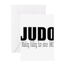Unique Judo Greeting Card