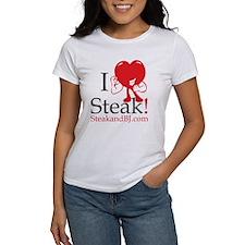 I Love Steak II Tee