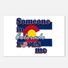 someone in colarado loves me Postcards (Package of