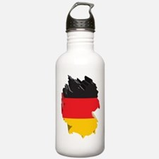 3D Map Of Germany Water Bottle