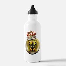 Germany King Of Football Water Bottle