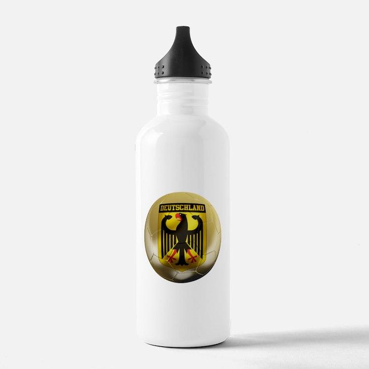 Deutschland Football Water Bottle