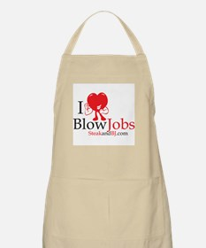 I Love Blowjobs II BBQ Apron