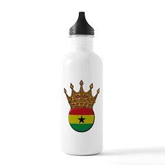 King Of Ghana Water Bottle