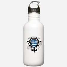 Stylish Greece Sports Water Bottle