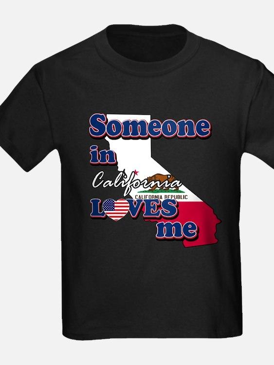someone in california loves me T