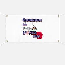 someone in california loves me Banner