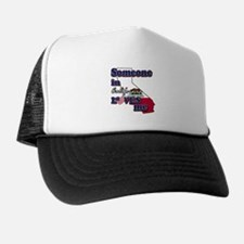someone in california loves me Trucker Hat