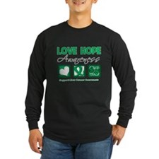 Liver Cancer Love Hope T