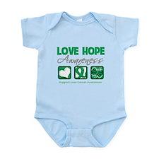Liver Cancer Love Hope Infant Bodysuit