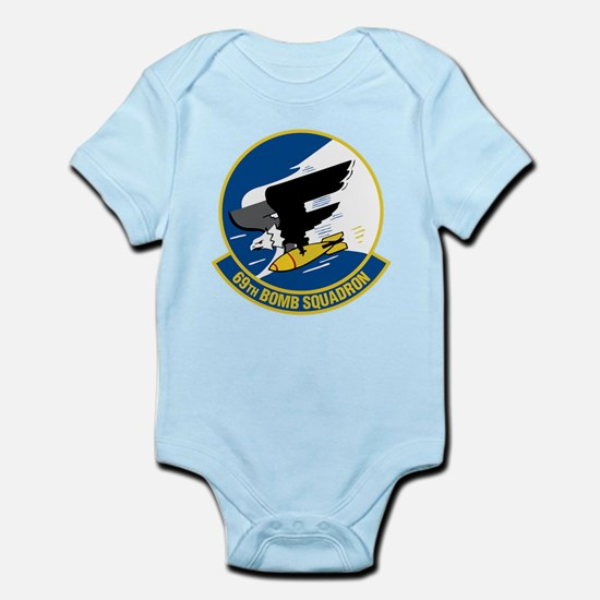 69th Bomb Squadron Infant Bodysuit
