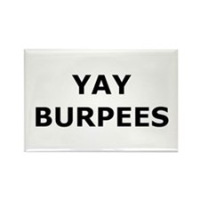 Yay Burpees Rectangle Magnet
