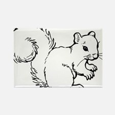 Cute Squirrel T-shirts Gifts Rectangle Magnet