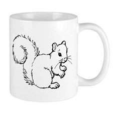 Cute Squirrel T-shirts Gifts Mug