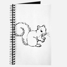 Cute Squirrel T-shirts Gifts Journal
