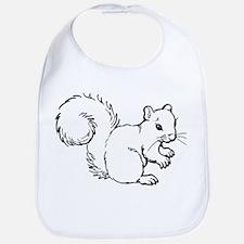 Cute Squirrel T-shirts Gifts Bib
