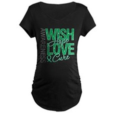 Liver Cancer WishHopeCure T-Shirt