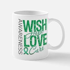 Liver Cancer WishHopeCure Mug