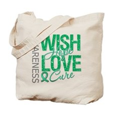 Liver Cancer WishHopeCure Tote Bag