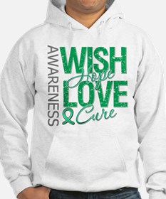 Liver Cancer WishHopeCure Hoodie