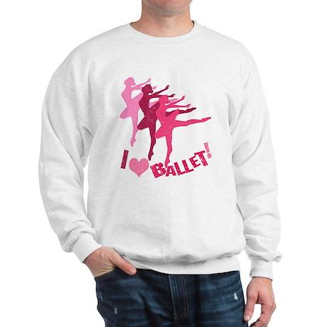 I Heart Ballet Sweatshirt