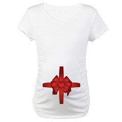 Pregnant Belly Bow Shirt