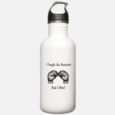 I Fought An Aneurysm Water Bottle