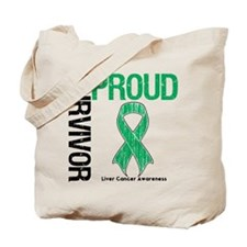 Proud Liver Cancer Survivor Tote Bag