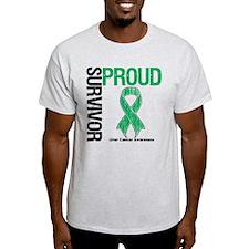 Proud Liver Cancer Survivor T-Shirt