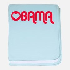 Red Heart Obama baby blanket