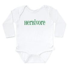 Herbivore Long Sleeve Infant Bodysuit