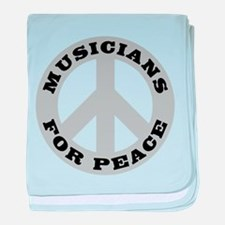 Musicians For Peace baby blanket