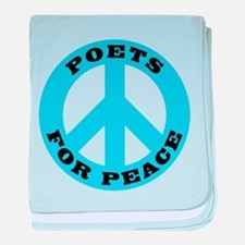 Poets For Peace baby blanket