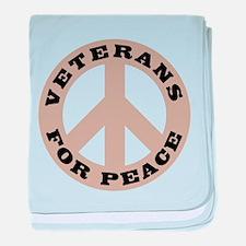 Veterans For Peace baby blanket