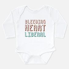 Bleeding Heart Liberal Long Sleeve Infant Bodysuit