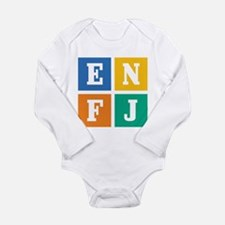 Myers-Briggs ENFJ Long Sleeve Infant Bodysuit