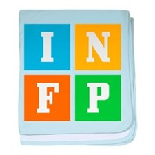 Myers-Briggs INFP baby blanket