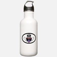Funny Spanish mustang Water Bottle