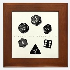 Dice Ring Framed Tile