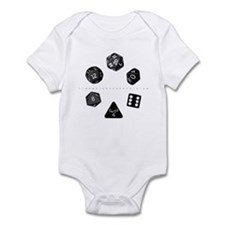 Dice Ring Infant Creeper