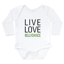 Live Love Bellydance Long Sleeve Infant Bodysuit