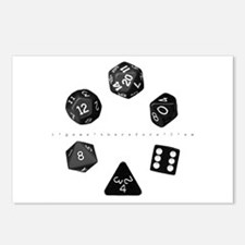 Dice Ring Postcards (Package of 8)