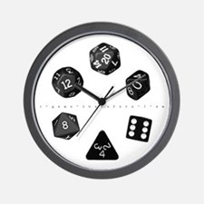 Dice Ring Wall Clock