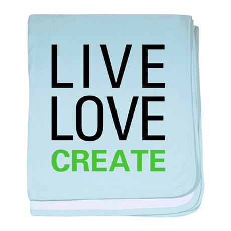 Live Love Create baby blanket
