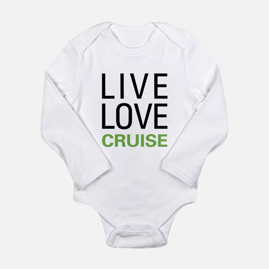 Live Love Cruise Long Sleeve Infant Bodysuit