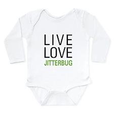 Live Love Jitterbug Long Sleeve Infant Bodysuit