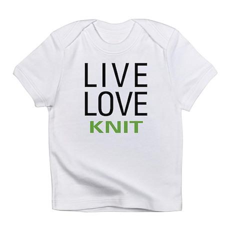 Live Love Knit Infant T-Shirt