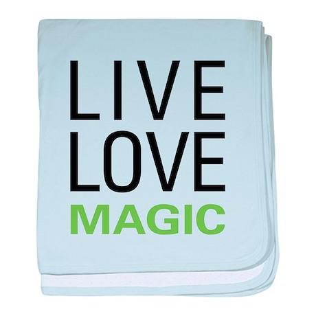 Live Love Magic baby blanket