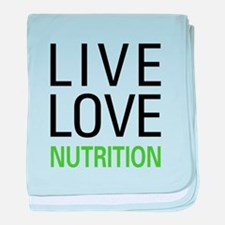 Live Love Nutrition baby blanket