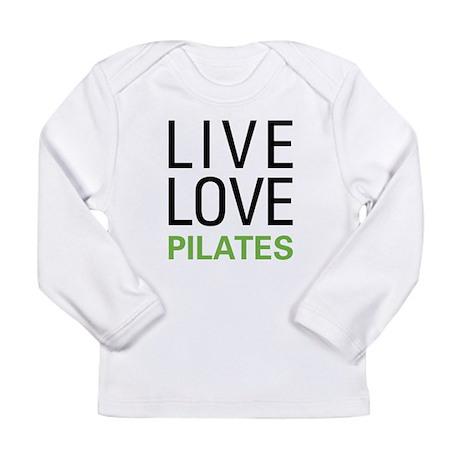 Live Love Pilates Long Sleeve Infant T-Shirt